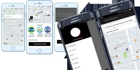 Uber Clone Taxi Booking Android And Ios App