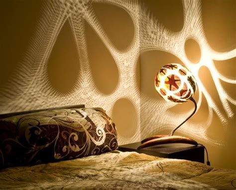 Yellow Black And Red Living Room Ideas by Unique Lighting Fixtures Blending Carved Gourd Art And
