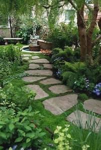 Allee De Jardin Facile : all e de jardin pour un am nagement ext rieur original et d co ~ Melissatoandfro.com Idées de Décoration