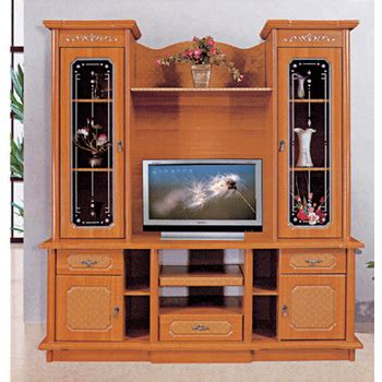 Living Room Furniture 810 Mdf Tv Stands With Showcase Desk