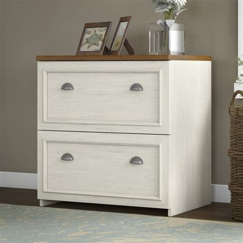bush fairview  drawer lateral wood file white filing