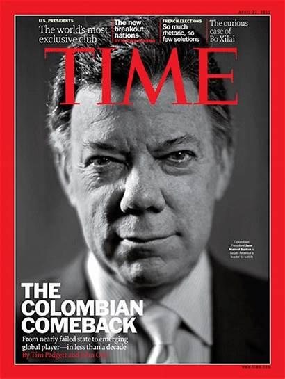 Colombia Magazine Santos Juan Manuel Colombian President