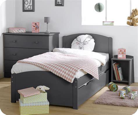 chambre gris chambre enfant nature complète grise achat sur ma