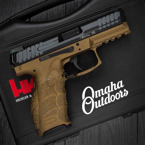 hk vp le burnt bronze pistol   mm night sights  bbz fr
