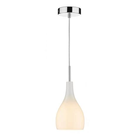 ex display kitchen island soho single opal white glass mini pendant light on clear cable