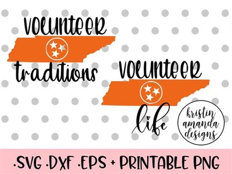 >>> instant download <<< you will receive one zip file containing a digital cut file in the following formats: Tennessee Volunteers SVG DXF EPS PNG Cut File • Cricut ...
