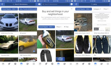 Facebook's Revamped Marketplace Goes After Craigslist Again