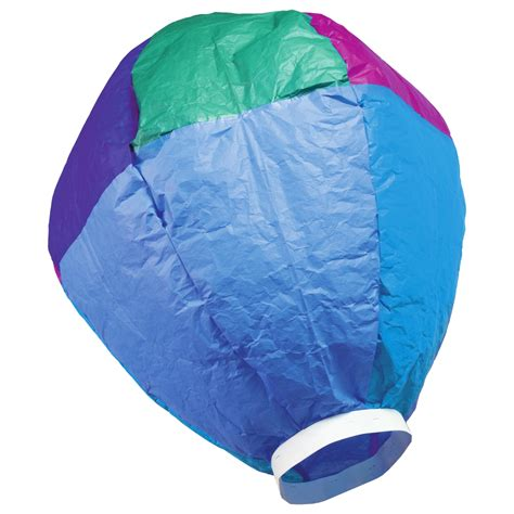 tissue paper hot air balloon national science week