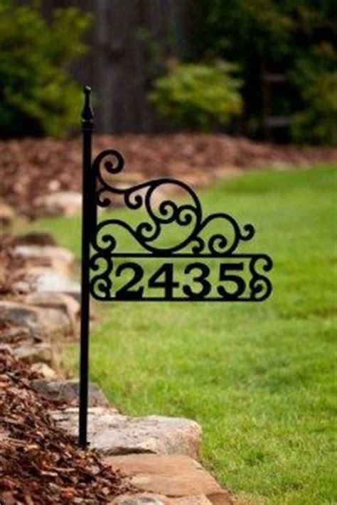 house number sign for l post house number signs alpine ascent home address sign