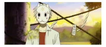 Mori Hotarubi Mask Gin Anime Maschera Face