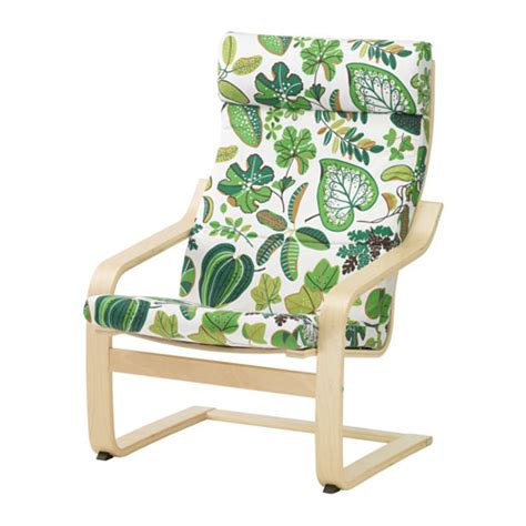 Ikea Poang Chair Cushion Uk by Po 196 Ng Chair Cushion Simmarp Green Ikea