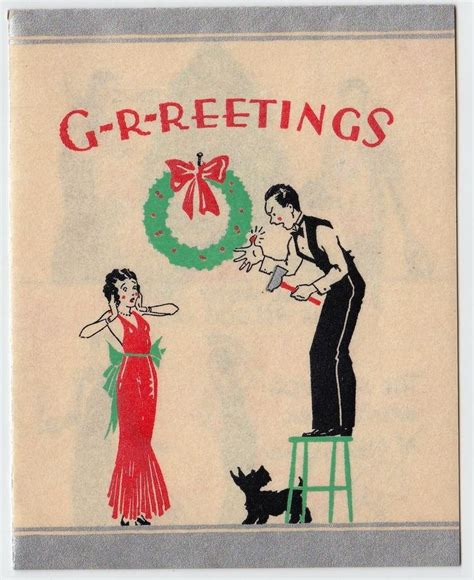 deco 1920s 1930s vintage greeting card deco 1920s 1930s