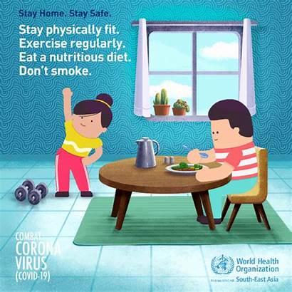 Stay Healthy Measures Coronavirus Mask Covid Safe