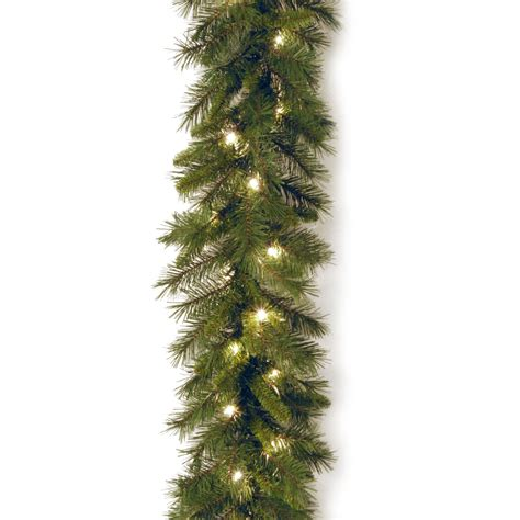 national tree company 9 ft winchester pine garland with