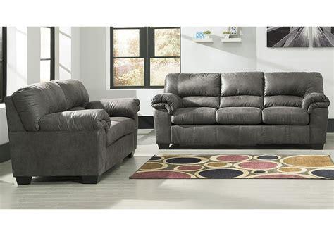gibson mcdonald furniture bladen slate sofa and loveseat