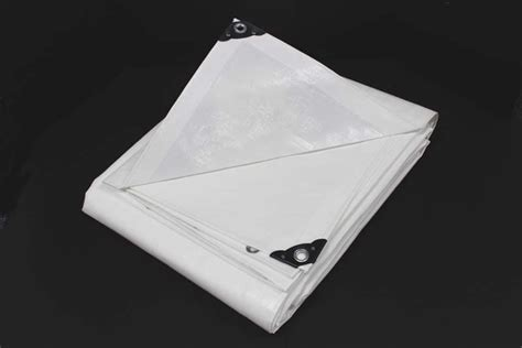 king canopy super heavy duty white polyethylene tarp