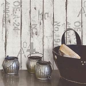 Leroy Merlin Papier Peint Brique : papier peint intiss wood and letters blanc leroy merlin ~ Dailycaller-alerts.com Idées de Décoration