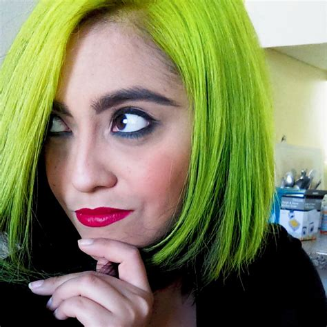Black And Neon Green Hair Hair Colors Ideas