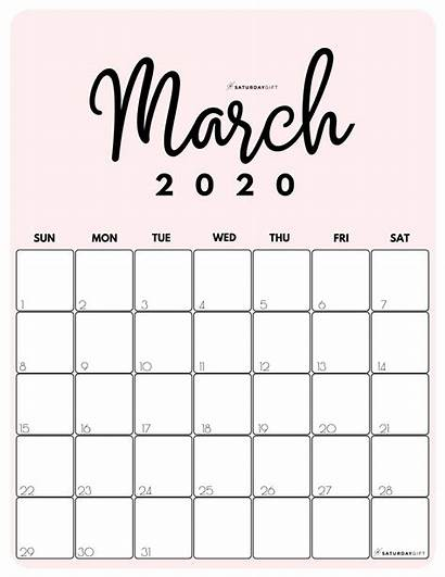 Calendar 2021 March Printable Monthly Pdf Colorful