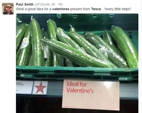 tescos rude valentines day gift suggestions