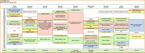 itinerary template 8 vacation itinerary templatereference letters words reference letters words