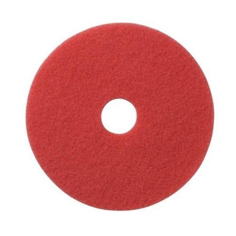 americo 27 quot red buffing floor pads pack of 5