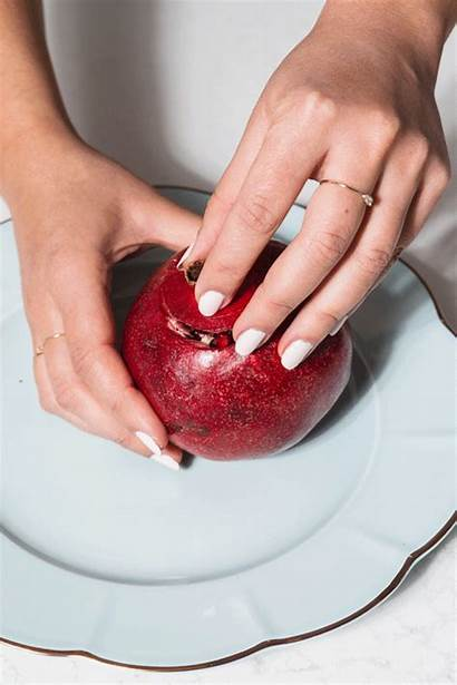 Pomegranate Without Mess Cut Making Repeat Above