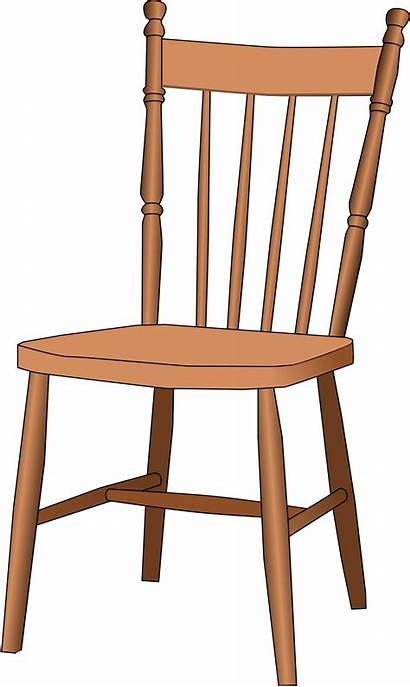 Chair Clipart Clip Chairs Transparent Windsor Table