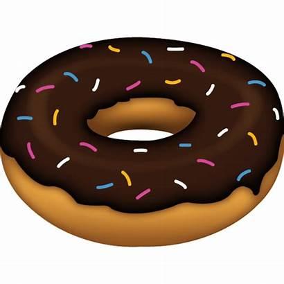 Emoji Donut Doughnut Clipart Transparent Background Doughnuts