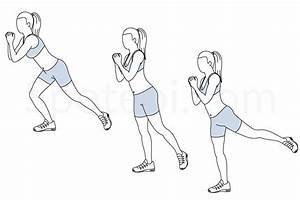 Single Leg Squat Kickback