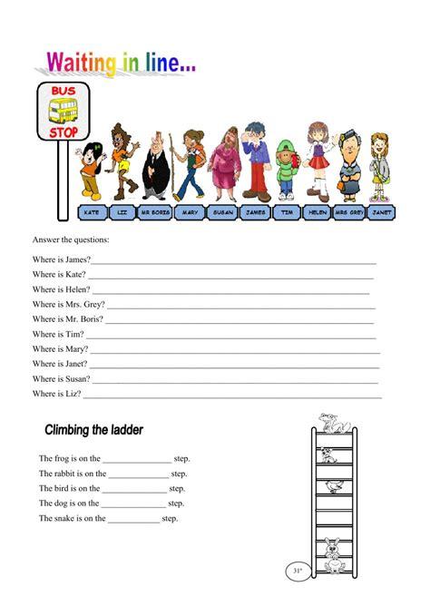 ordinal numbers interactive worksheet