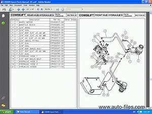 Combilift Forklift  Spare Parts Catalog  Repair Manual