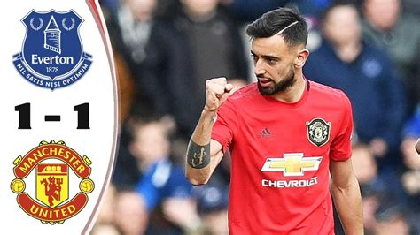 Latest on manchester united midfielder bruno fernandes including news, stats, videos, highlights and more on espn. Everton vs Manchester United 1-1 🔥Bruno Fernandes Missing ...