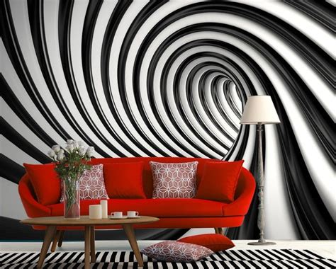 black  white home wallpaper swirl