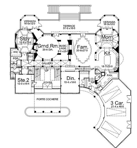 14 Beautiful Gothic Mansion Floor Plans  Architecture Plans