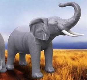 Inflatable Animals — Lifesize Inflatable Elephant (7' H)