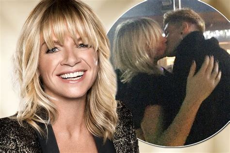 Married Zoe Ball snogged 22-year-old boyband singer, as he ...
