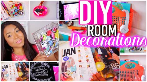 Diy Room Decorations +desk Organization Tips For The New