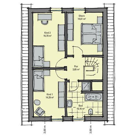 Grundriss Haus Schmales Grundstück by Einfamilienhaus G 252 Nstig Bauen Akazienallee Idealer