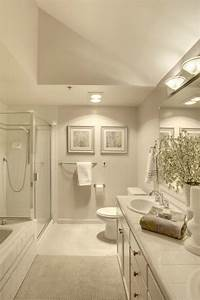 Contemporary, Master, Bathroom, With, Double, Sink, U0026, High