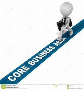Core business area stock illustration. Illustration of ...