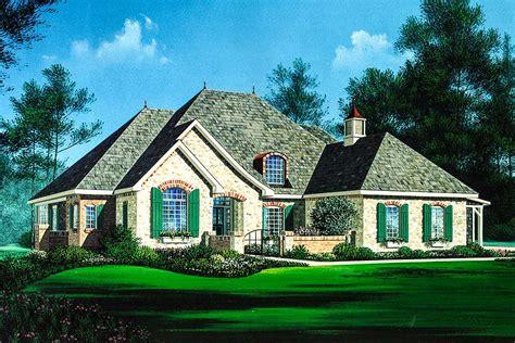 european cottage home plan ah architectural designs house plans