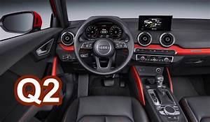 Audi Q2 Interieur : 2017 audi q2 interior youtube ~ Medecine-chirurgie-esthetiques.com Avis de Voitures