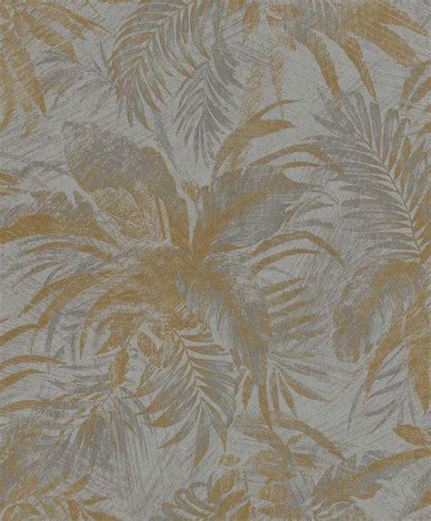 Tapete Gold Grau by Tapete Vlies Bl 228 Tter Grau Gold Glitzer Rasch Textil 229126
