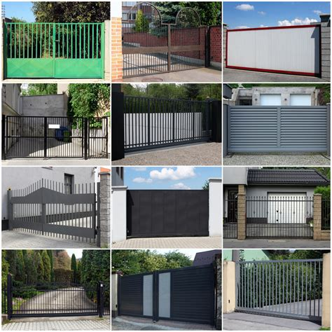 design of fences for houses modern house gates and fences designs modern house