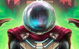 Wallpaper of Mysterio, Marvel Comics, Far From Home