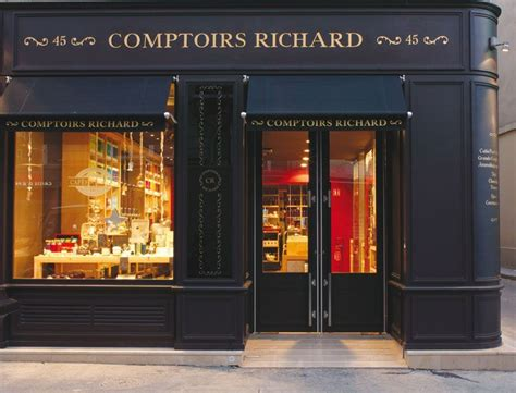 Comptoire Richard by Comptoirs Richard Coffee And Tea Shop Rue De Bretagne
