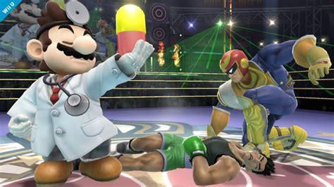 Dr Mario Little Mac And Captain Falcon Super Smash Bros
