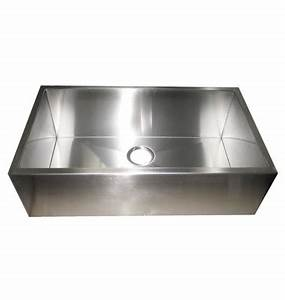 32 inch stainless steel flat front farm apron single bowl With 32 inch farm sink