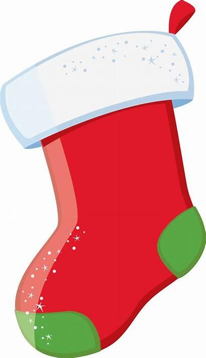 Stocking Clipart Natal Transparent Imagens Clip Navidad